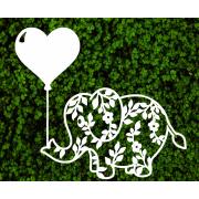 Декоративный слоник для фотозоны
