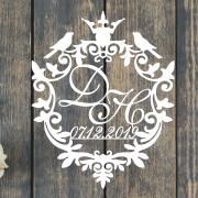 """Свадебный герб """"Принцесса"""""""