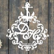 """Свадебный герб """"Морской"""""""