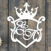 """Свадебный герб """"Королевство"""""""