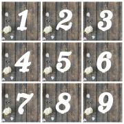 "Номерки на столы ""Цифры"""