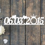 Дата для свадебной фотосессии на заказ