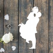 """Свадебная табличка """"Поцелуй"""""""