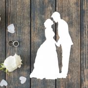 """Свадебная табличка """"Жених и невеста"""""""