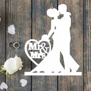 "Свадебная табличка ""Молодожены MR&MRS"""