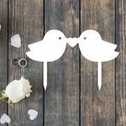 """Свадебная табличка """"Птички"""""""