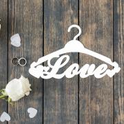 """Свадебная вешалка """"Love"""""""