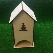 Чайный домик с елочкой