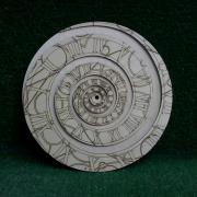"""Циферблат для часов """"Спираль"""""""