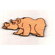 Заготовка Подозрительный медведь (модель 1)