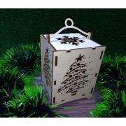 "Новогодний фонарик ""Нарядная елка"""
