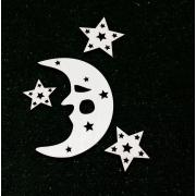 Заготовка Месяц и звезды (модель 4)