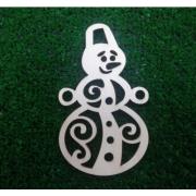 Заготовка Ажурный Снеговичок (модель 2)