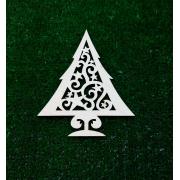 Заготовка Лесная елка в снегу (модель 5)